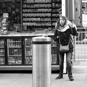 Bewitched, Bothered and Bewildered by Michael Summers - People Street & Candids ( olympus omd e-m5, street, candid )