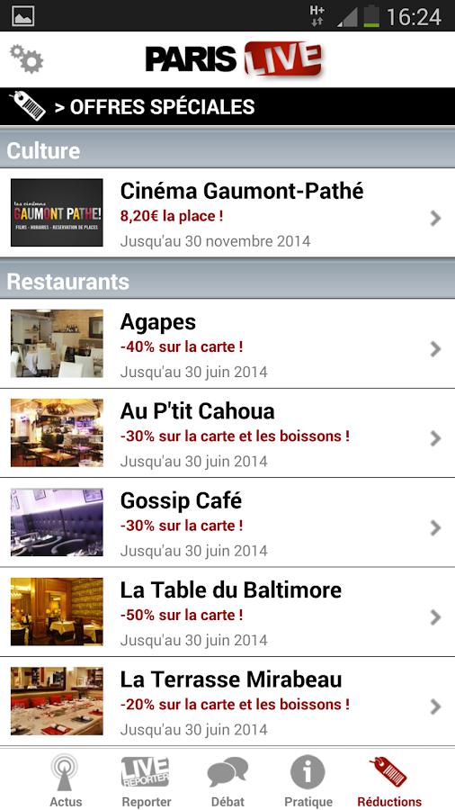Paris Live - screenshot