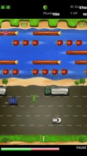 Frogger- screenshot thumbnail