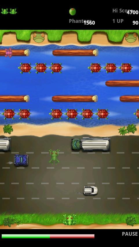 Frogger- screenshot