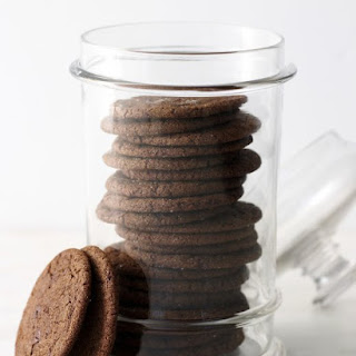 Chewy Chocolate Ginger-Molasses Cookies.