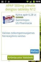 Screenshot of Vaistai.lt