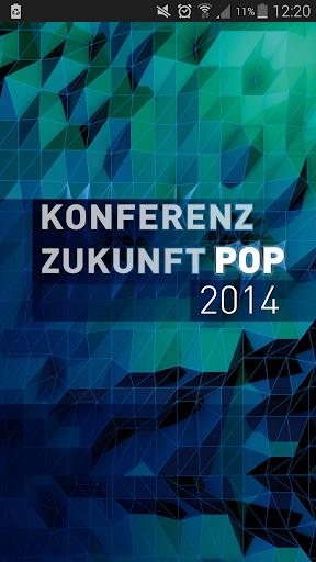 Konferenz Zukunft Pop 2014