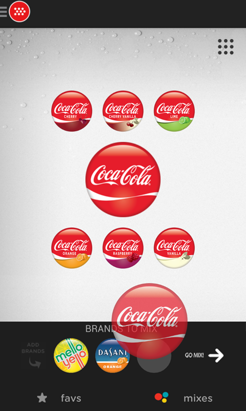 Coca-Cola Freestyle - screenshot