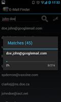 Screenshot of Find Email Address - Promo