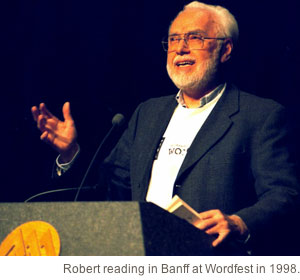 AUDIO / Robert Kroetsch reading at Capilano College