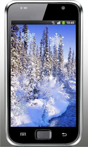 Winter HD Scene Live Wallpaper
