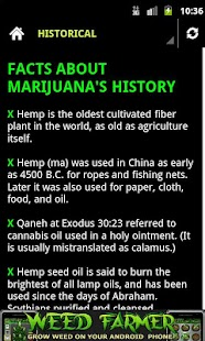 Marijuana Facts - screenshot thumbnail