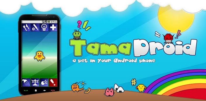 Mastereon Tamadroid android virtual pet games gratis