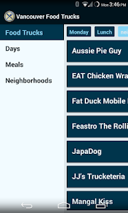 Vancouver Food Trucks - screenshot thumbnail