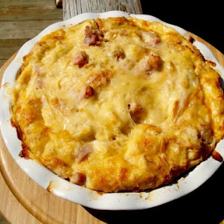 Ham and Cheese Strata.