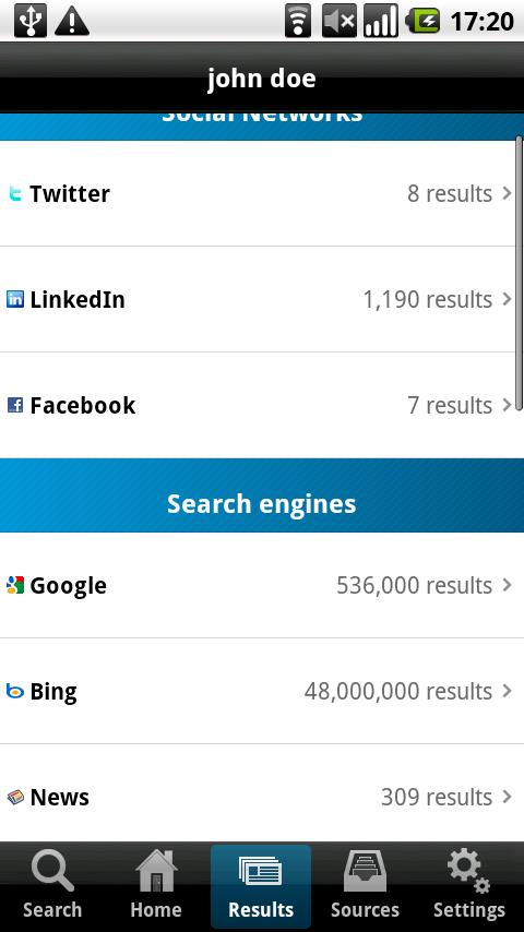 kgbpeople - people search - screenshot