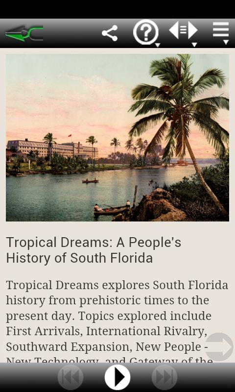 HistoryMiami - Tropical Dreams- screenshot