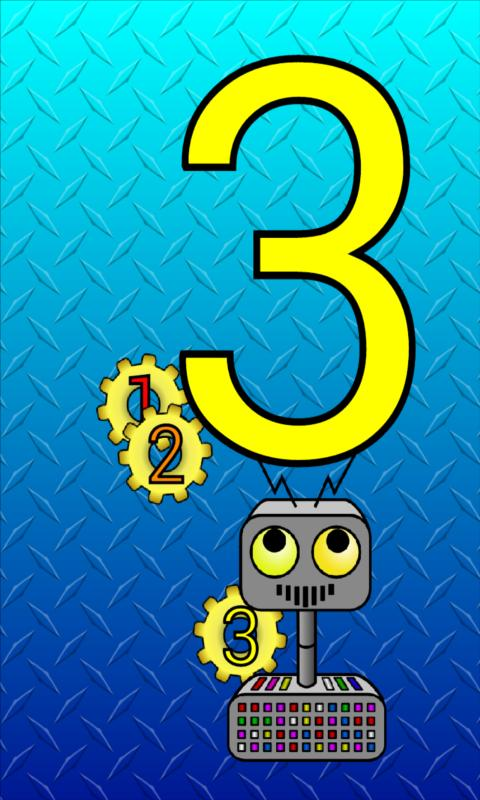 Counting Robot (Ad Free!) - screenshot