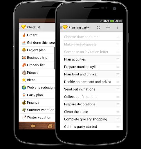 Smart Checklist + SmartWatch