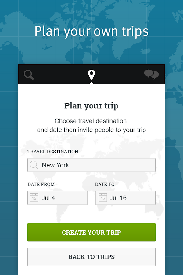 TripTogether - screenshot