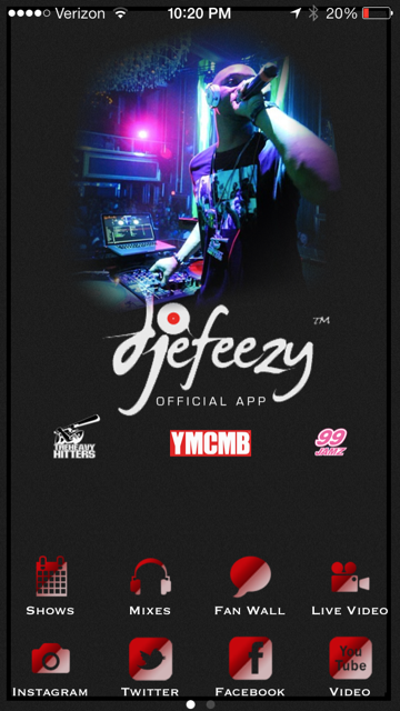 DJ E-Feezy - screenshot
