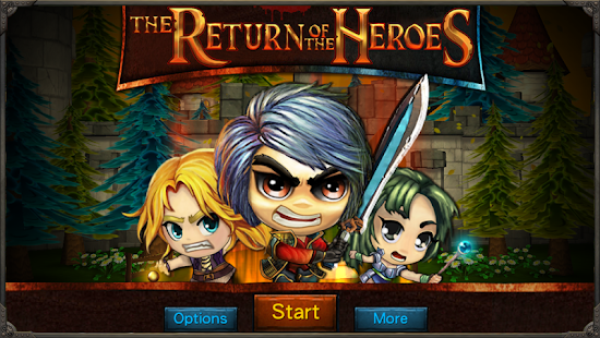 The Return of the Heroes- screenshot thumbnail