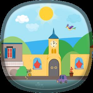 卡通城市動態壁紙 個人化 App LOGO-硬是要APP