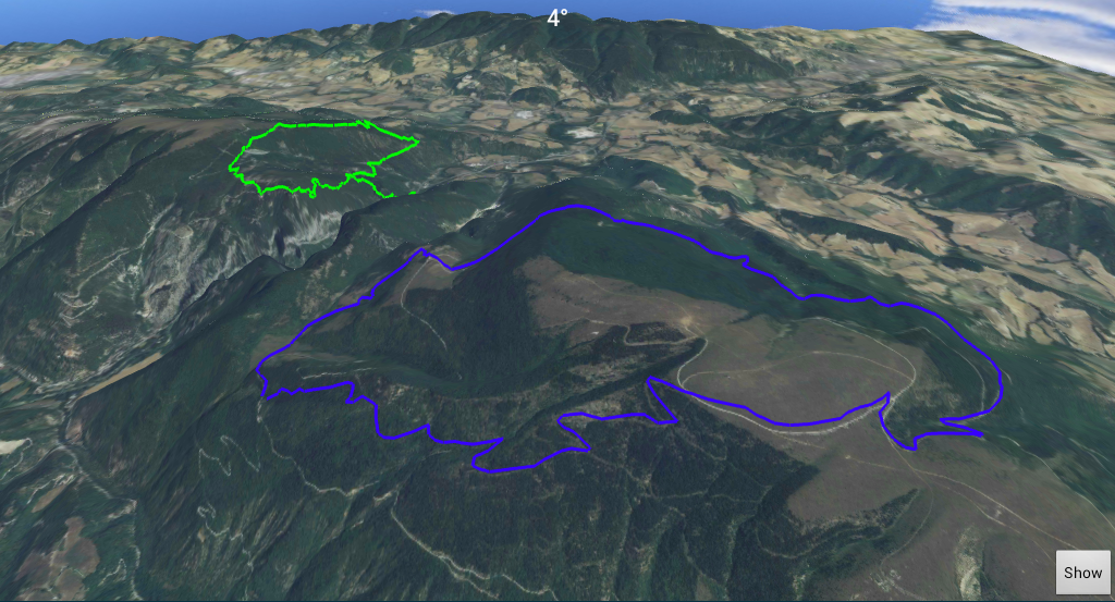 Map Gps Hiking Navigator Trial - screenshot