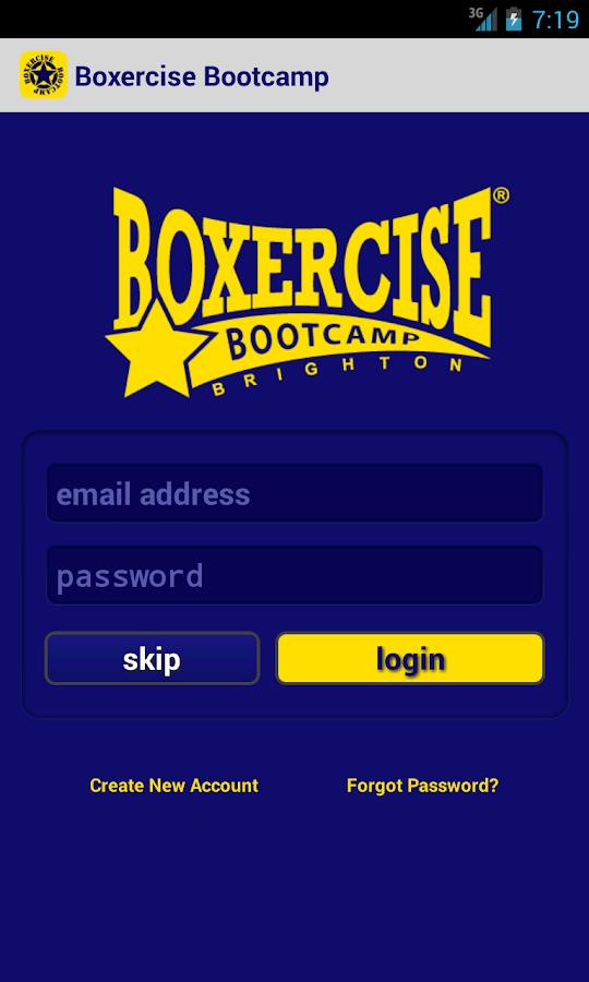 Boxercise Bootcamp - screenshot