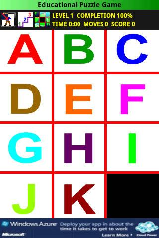 Educational Puzzle Game Free- screenshot