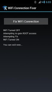 WiFi Connection Fixer *ROOT* - screenshot thumbnail