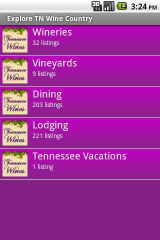 Tennessee Wine Country- screenshot
