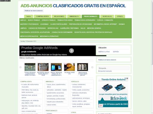ADS-ANUNCIOS GRATIS