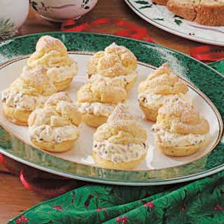 French Vanilla Cream Puffs.