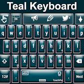 Keyboard Teal