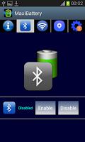 Screenshot of MaxiBattery battery protector