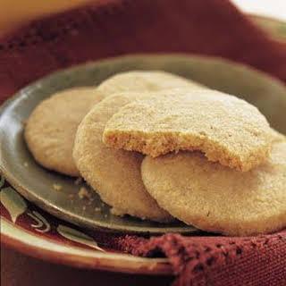 Toasted Piñon Shortbread.