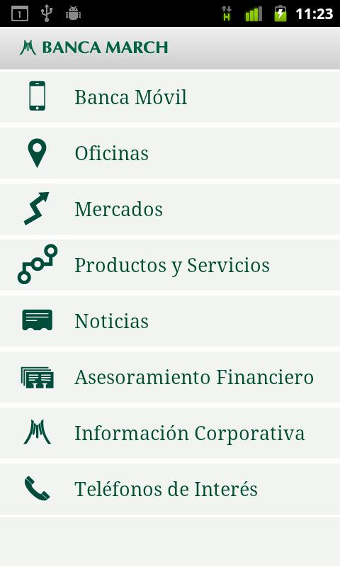 Banca March - screenshot