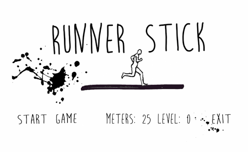 Runner Stick - Memory Painting
