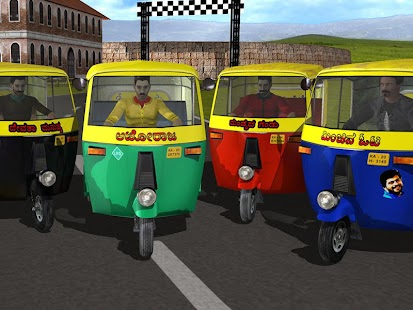 Auto Rickshaw Rash- screenshot thumbnail