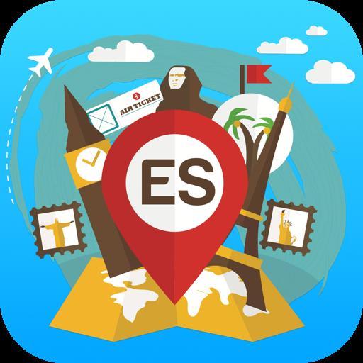 Spain travel guide offline map
