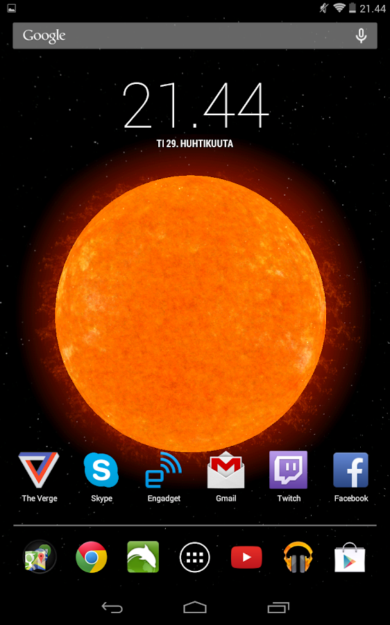 solar system live view - photo #20