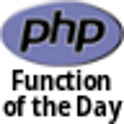 PHP Function of the Day DONATE icon