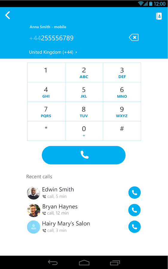 Skype - free IM & video calls- screenshot