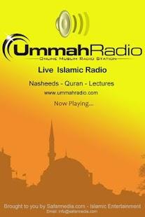 Ummah Radio- screenshot thumbnail