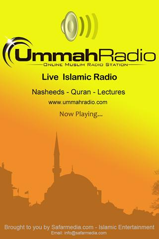 Ummah Radio- screenshot