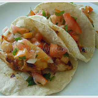 Chicken with Lime and Jalapeno Tacos.