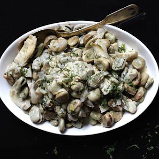 Aginares Me Koukia (Artichokes and Fava Beans).