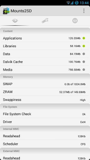 Mounts2SD - Storage Memory