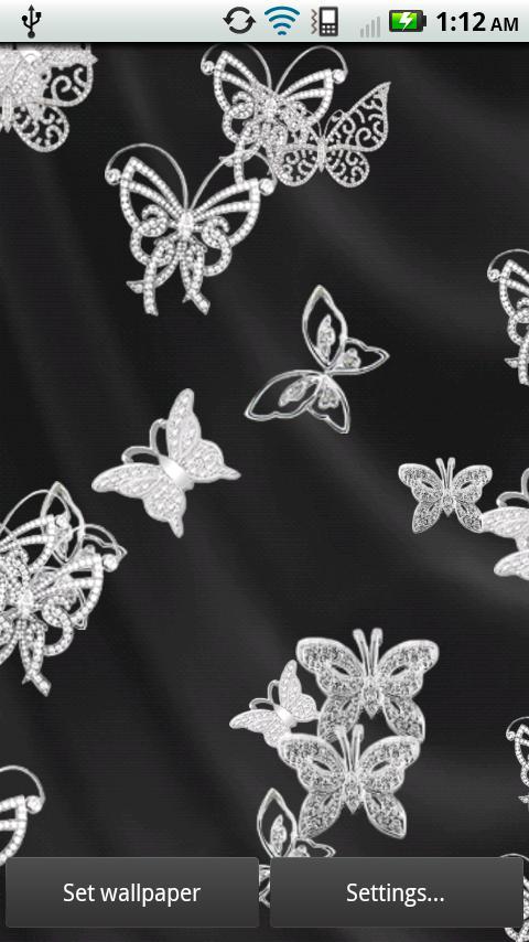 Diamond Butterflies Live- screenshot