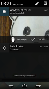 beeWear (Check in for Swarm)- screenshot thumbnail