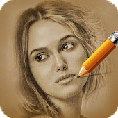 Pencil Camera Face Sketch App
