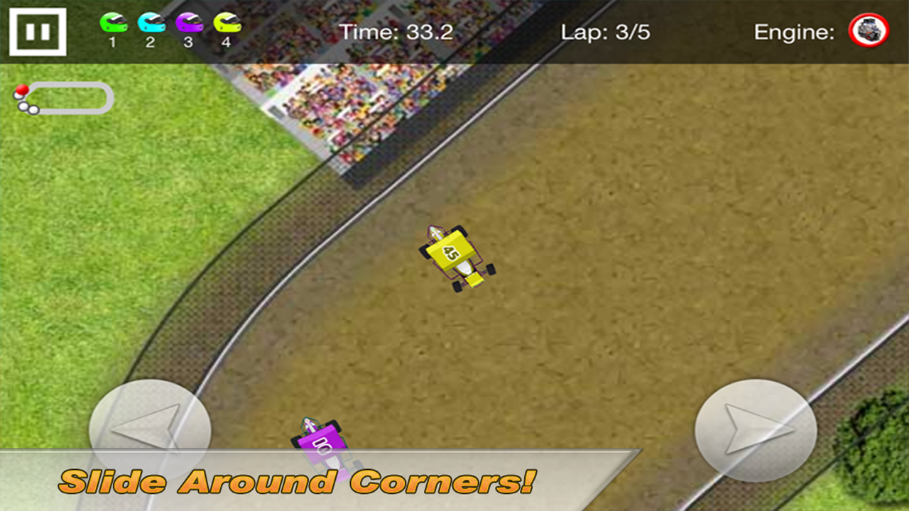Sprint Car Dirt Racing Game- screenshot