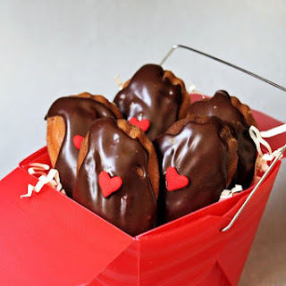 Cherry-Chocolate Madeleines.